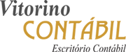 Vitorino Contábil – Contabilidade e Consultoria. Logo